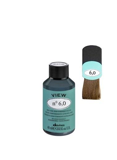 Davines Davines View Yarı Kalıcı Saç Boyası 6,0 Koyu Kumral 60 Ml Renksiz